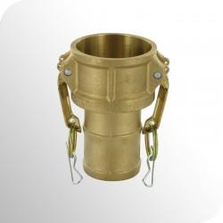 Coupleur à cames type C à douille annelée - Bronze