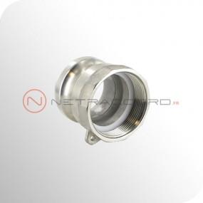 Adapteur type A femelle BSPP - Inox DIN2828