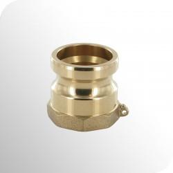 Adapteur type A femelle BSPP - Bronze