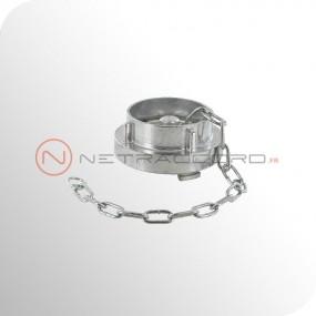 Bouchon Storz avec chaînette - Aluminium