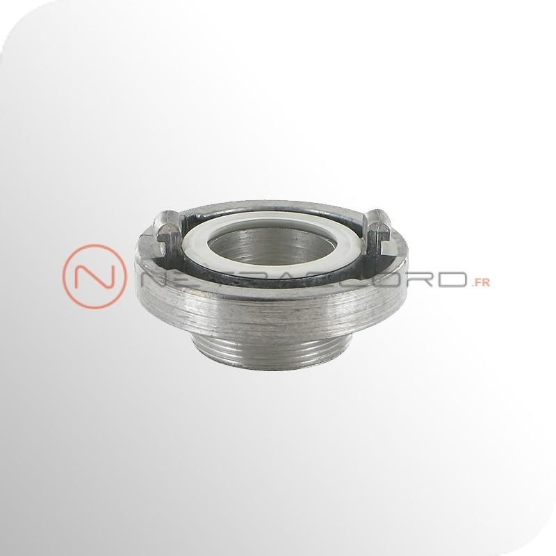 Raccord Storz mâle BSP - Aluminium