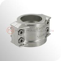 Collier demi-coquilles EN 14420-3 / DIN 2817 - Inox