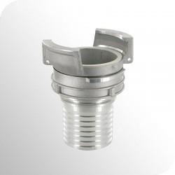 Raccord Guillemin à douille annelée - Aluminium