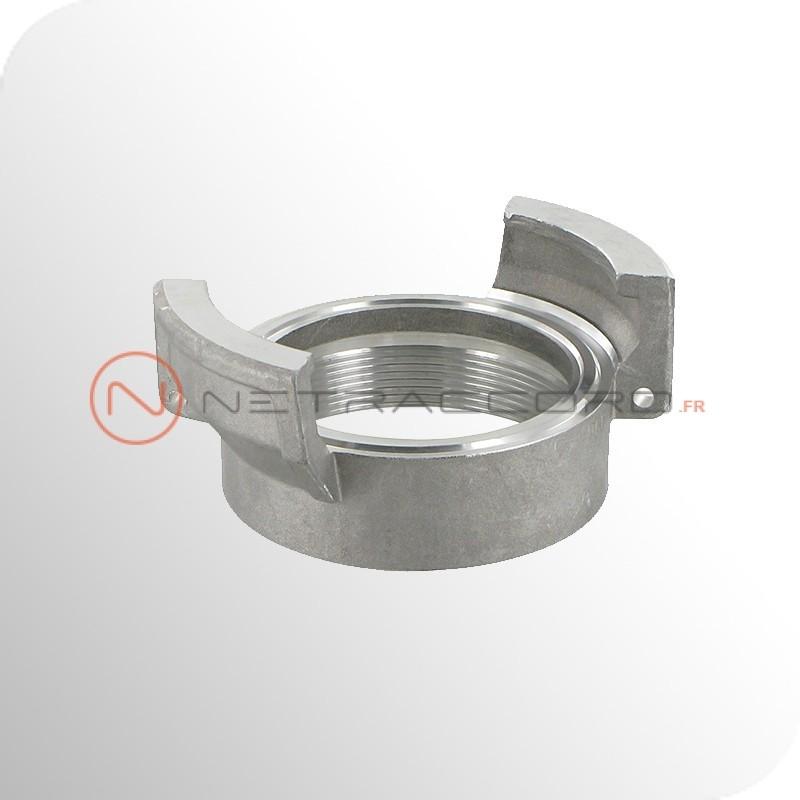 Raccord Guillemin femelle sans verrou BSP - Aluminium