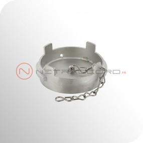 Bouchon Guillemin cadenassable avec chaînette - Inox