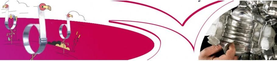 Collier de serrage tuyauterie Industrielle | Anneau & bague de serrage